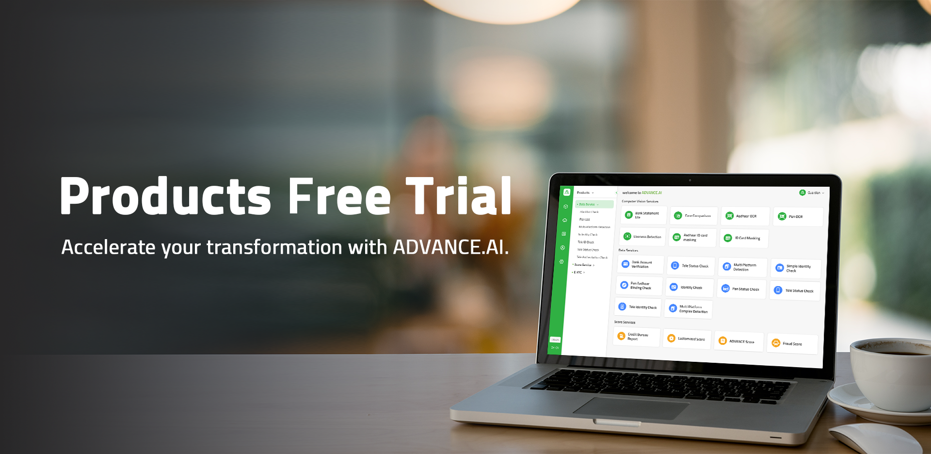 Computer with free trial